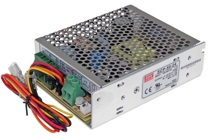 Alimentatore caricabatterie switching SCP