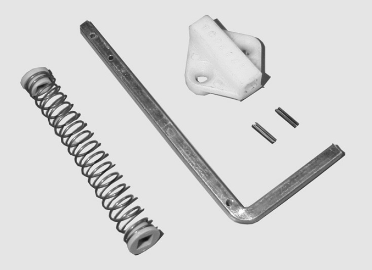Dispositivo chiave di emergenza per sospensione tipo B (dim. mm 128 x 55)