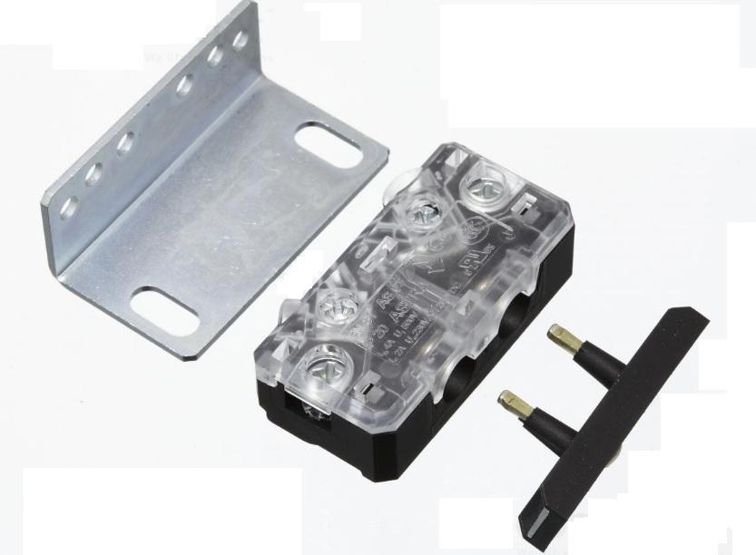 Contatto con dima e viteria serratura Monitor