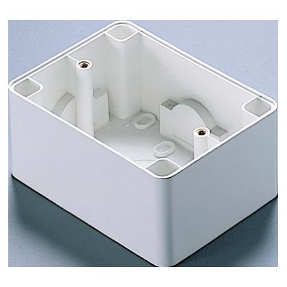 Scatola da parete per placche autoportanti compact system
