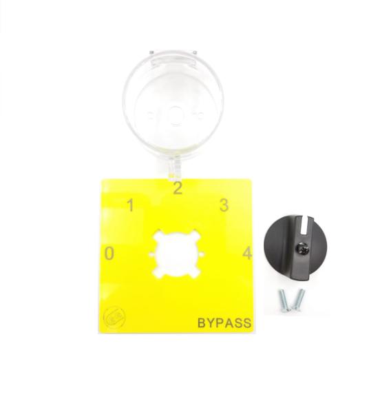 Kit protezione targhetta 0-1-2-3-4 bypass guida din