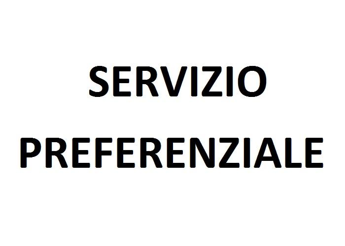Servizio preferenziale
