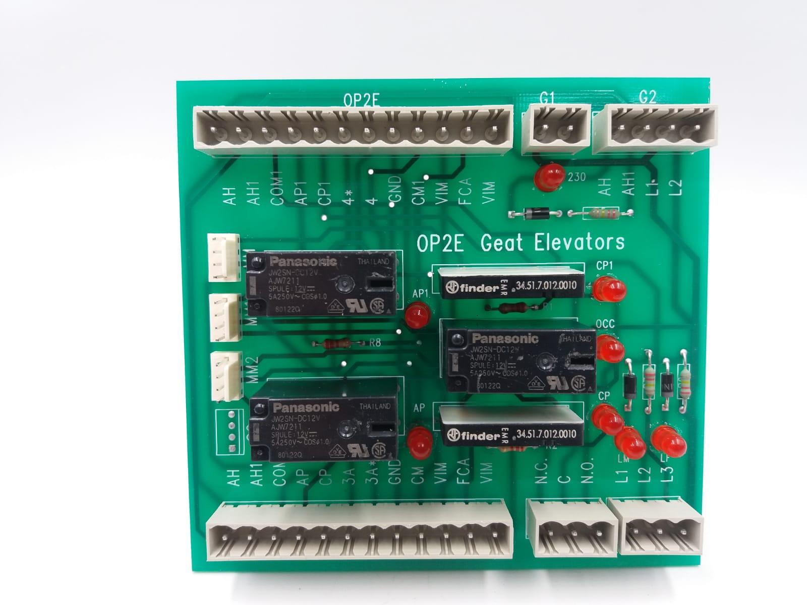 OP2E Scheda doppio operatore elettronico