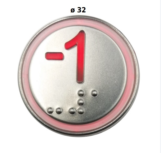 Pulsante MACRO 32 mm