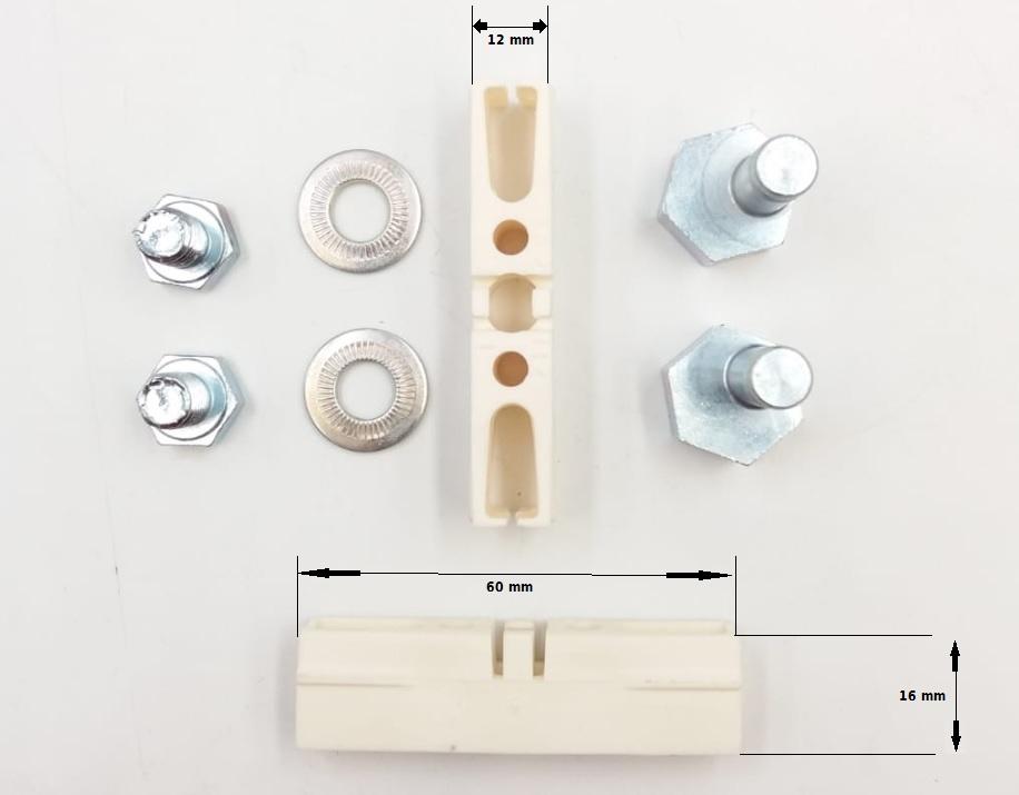 Pattino per porte automatiche (confezione da  2)