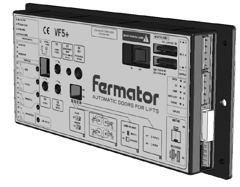 SCHEDA ELETTRONICA VVVF5+ 230V.