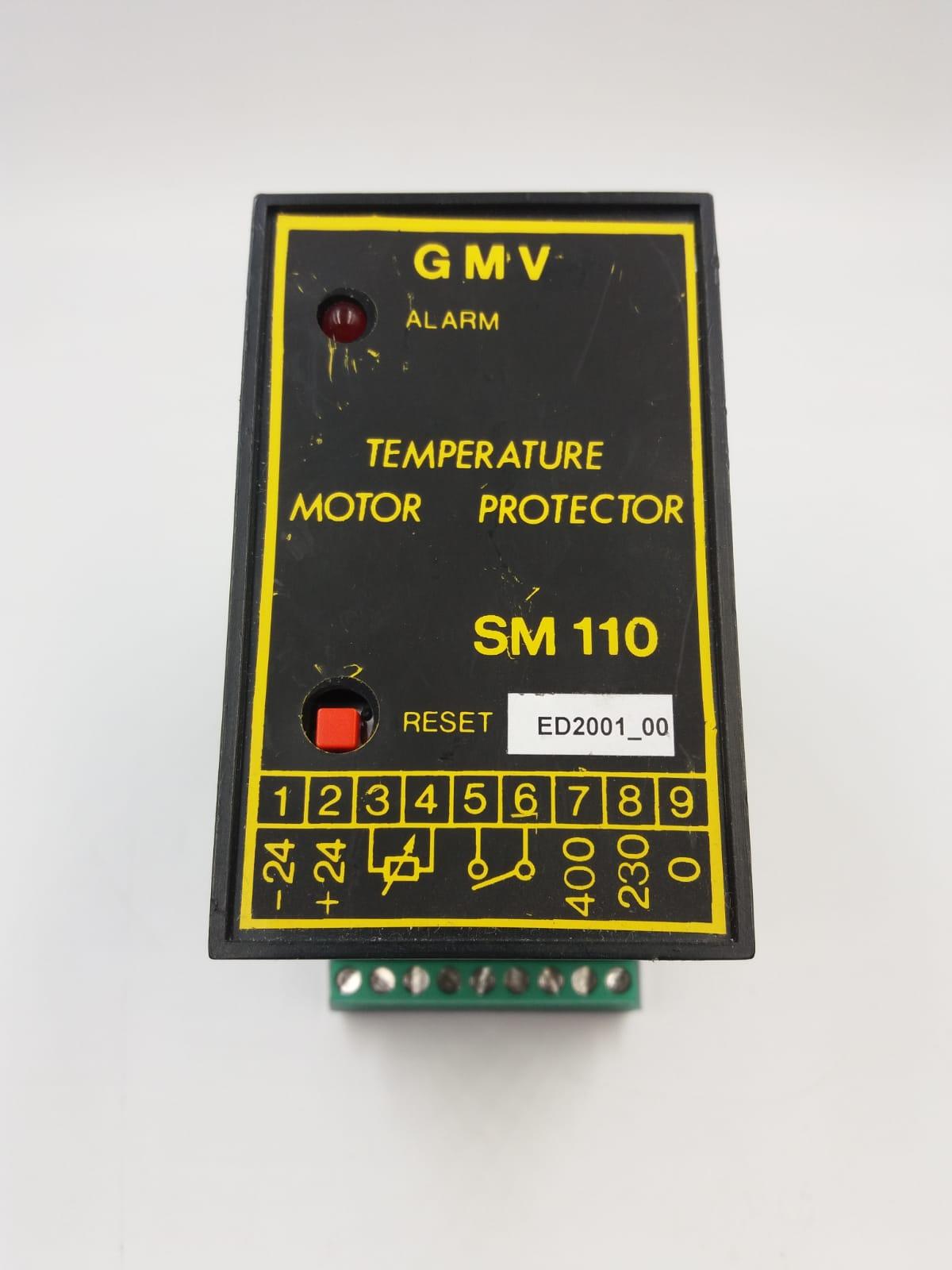 Protezione temperatura motore SM 110
