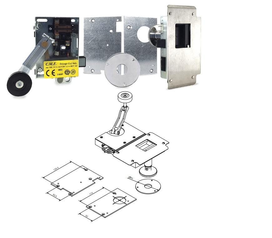 Kit sostituzione serratura Forsid