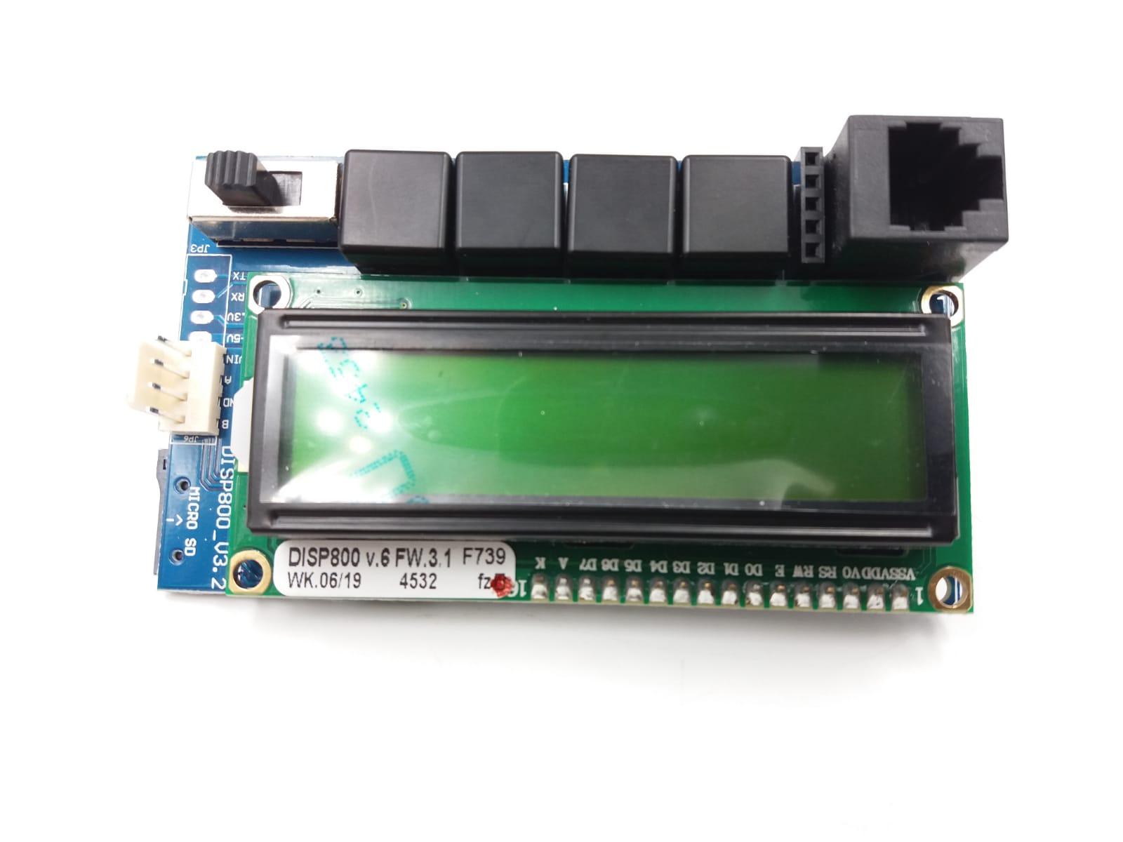 Scheda DISP800