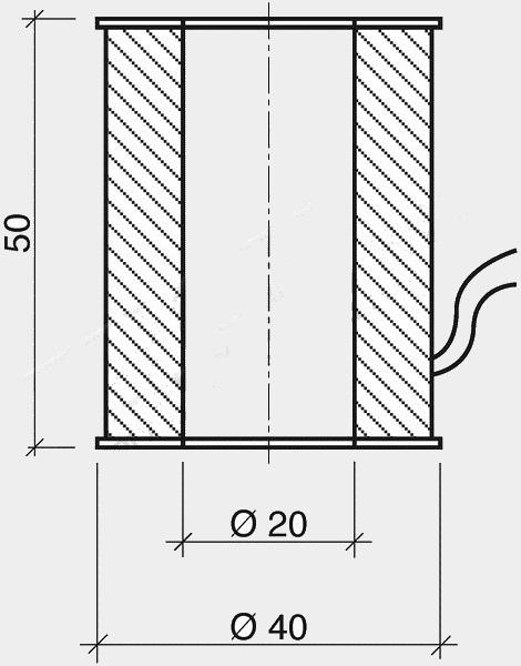Bobina per valvole centralina F229 M