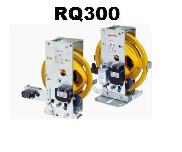 Limitatore RQ300 BD Dx b. piana antider. 24V. DC D/contatto + kit bloccaggio antideriva ( A3)