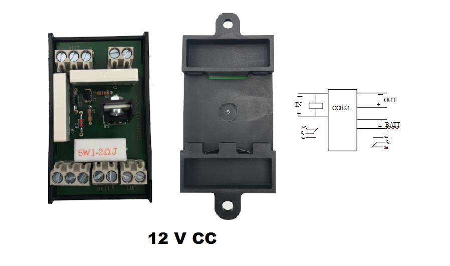 Scheda controllo carica della batteria