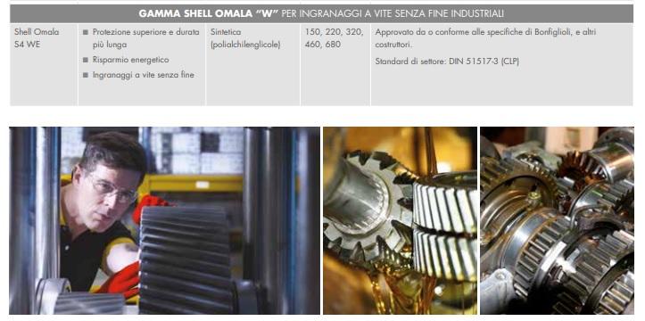 OLIO SHELL OMALA S4 WE 220 - TANICA 5 LT.