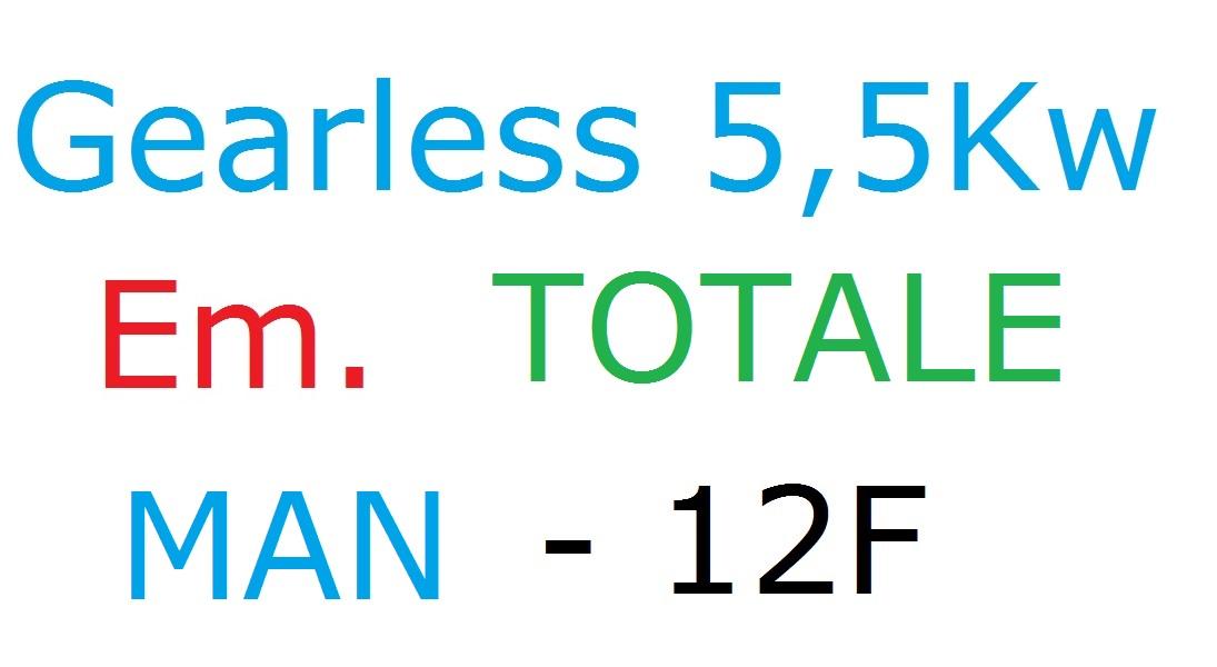 Gearless Manuale 12F