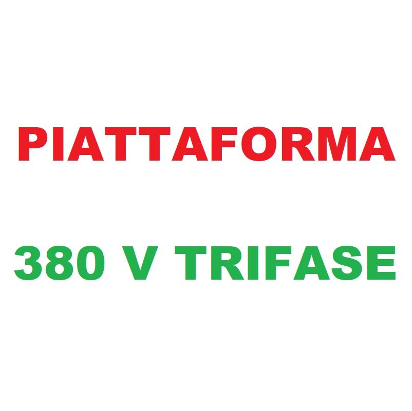 Piattaforma 380V Trifase