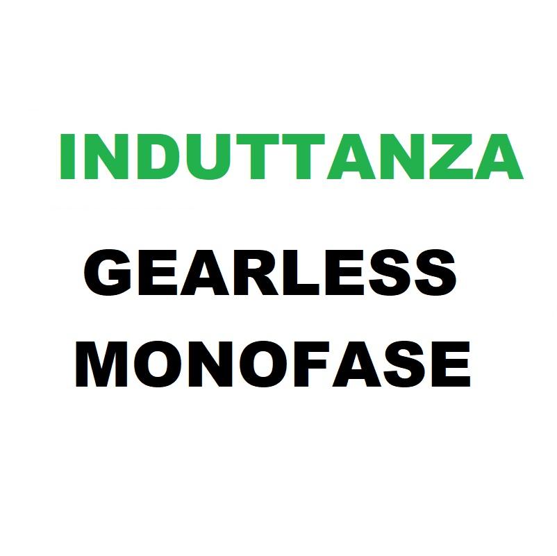 Gearless Monofase Induttanza