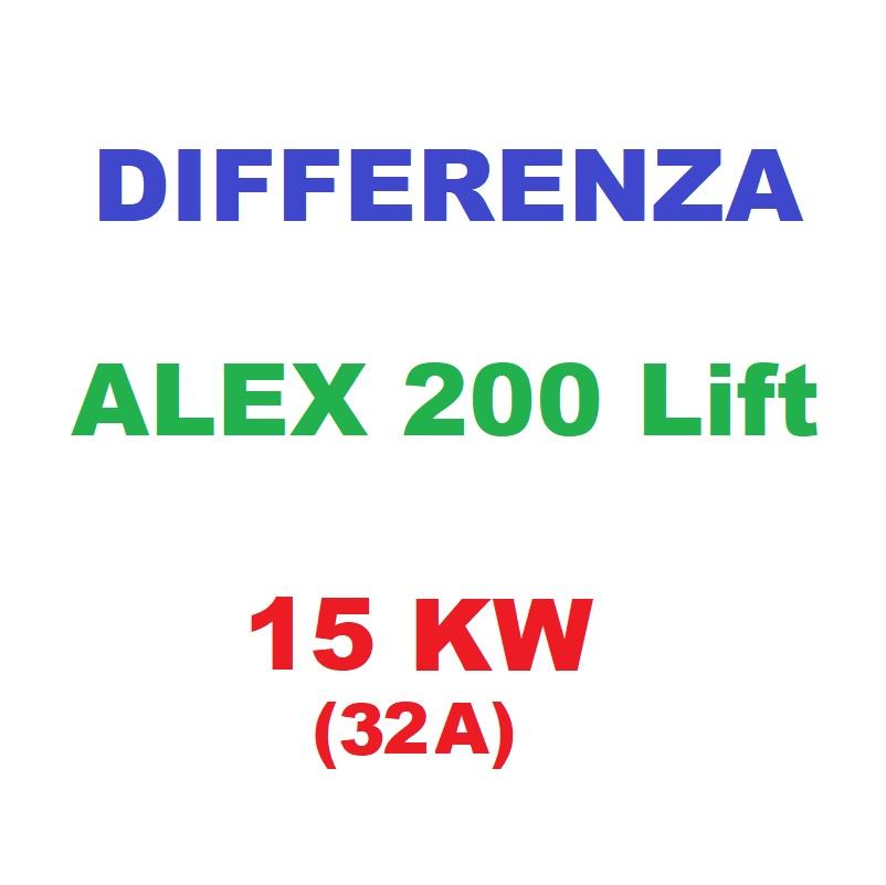 Differenza ALEX200Lift 15KW (32A)