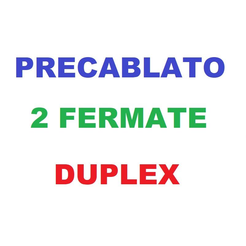 Precablato 2F DUPLEX
