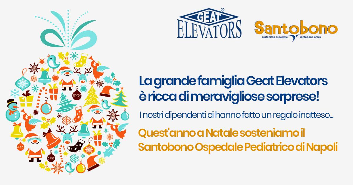 Ringraziamo tutta la grande famiglia Geat Elevators!